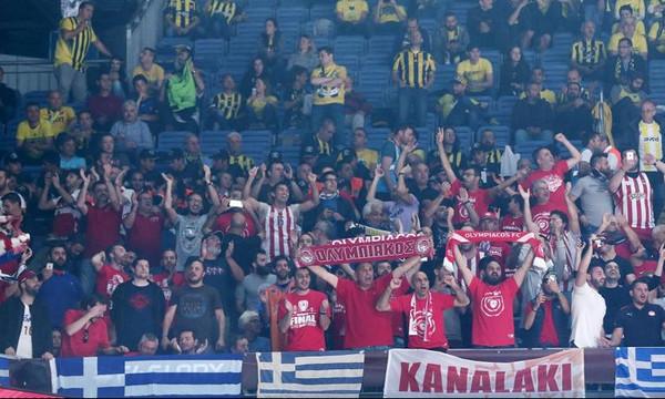 Τελικός Euroleague 2017: Χαμός και απόπειρα «ντου» στους οπαδούς του Ολυμπιακού
