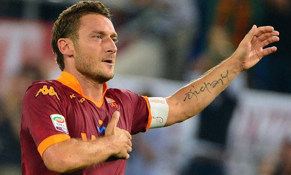 Τότι: Ειδική φανέλα από Ρόμα για το «αντίο» του!