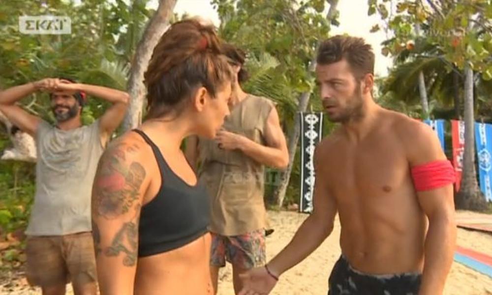 Survivor: Ο Αγγελόπουλος «κάρφωσε» την Ευρυδίκη
