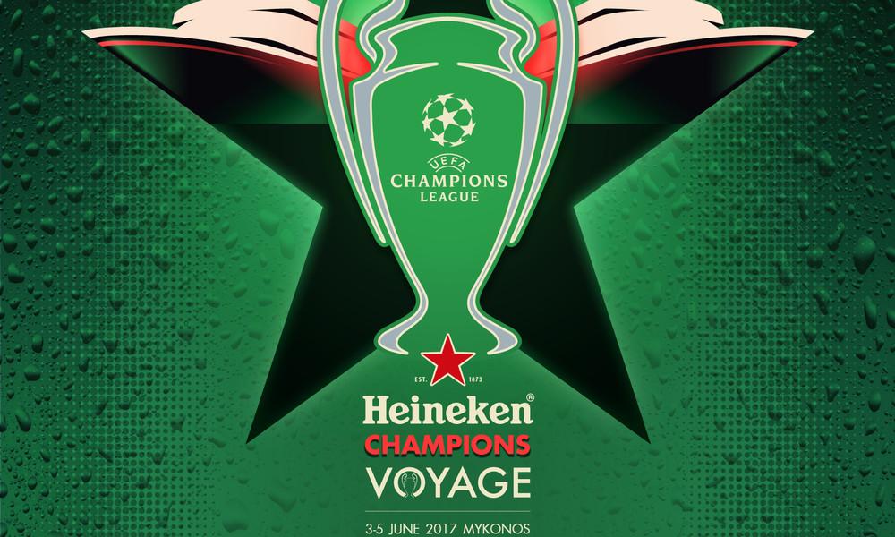 Ο τελικός του UEFA Champions League σαλπάρει για… Μύκονο με τη Heineken®
