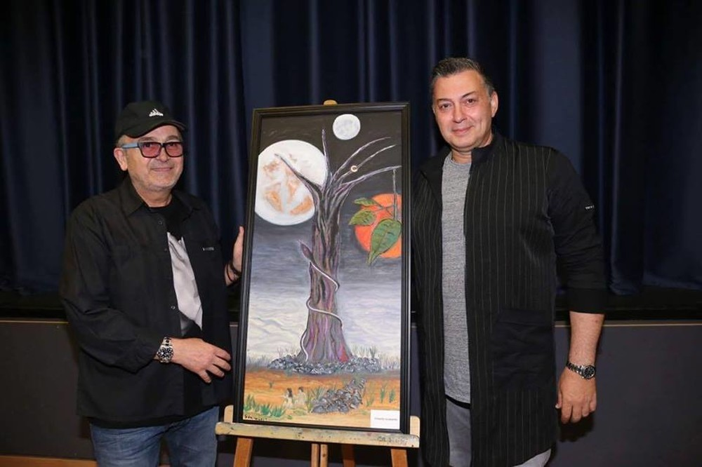 Με τεράστια επιτυχία έγινε η έκθεση ζωγραφικής του Σταμάτη Γονίδη (εικόνες)