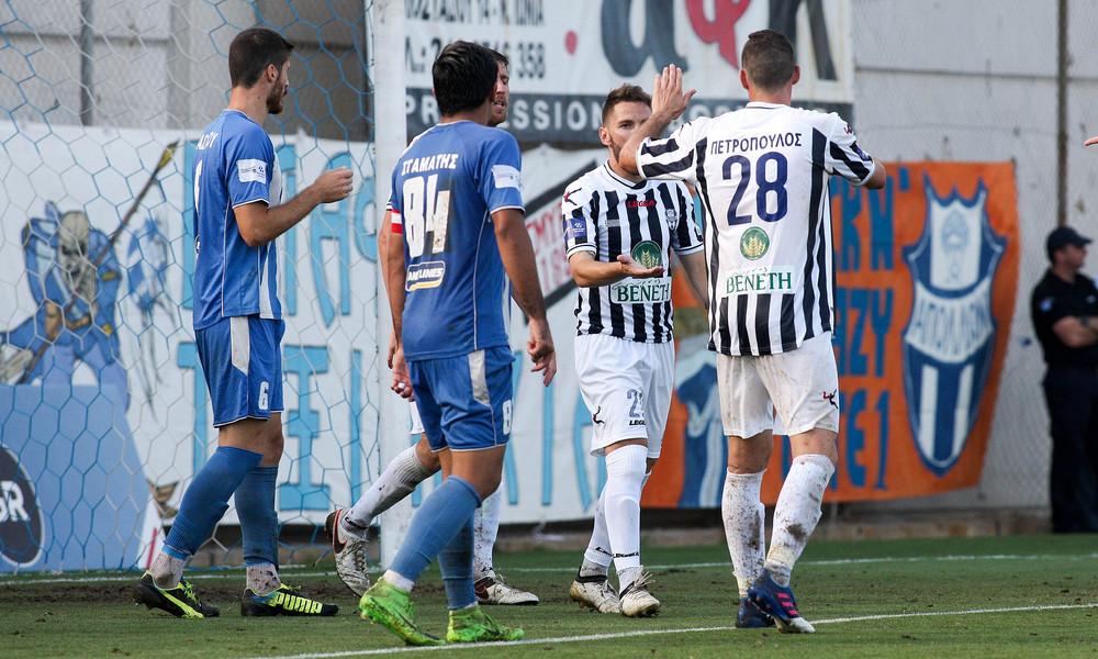 Απόλλων Σμύρνης - ΑΟ Χανιά 3-0: Το ξέσπασμα των πρωταθλητών! (video)
