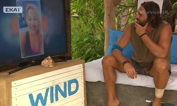 Survivor: Το μήνυμα της Ζωής Τζάνη. Πώς αντέδρασε ο Σπαλιάρας όταν είδε την κοπέλα του;