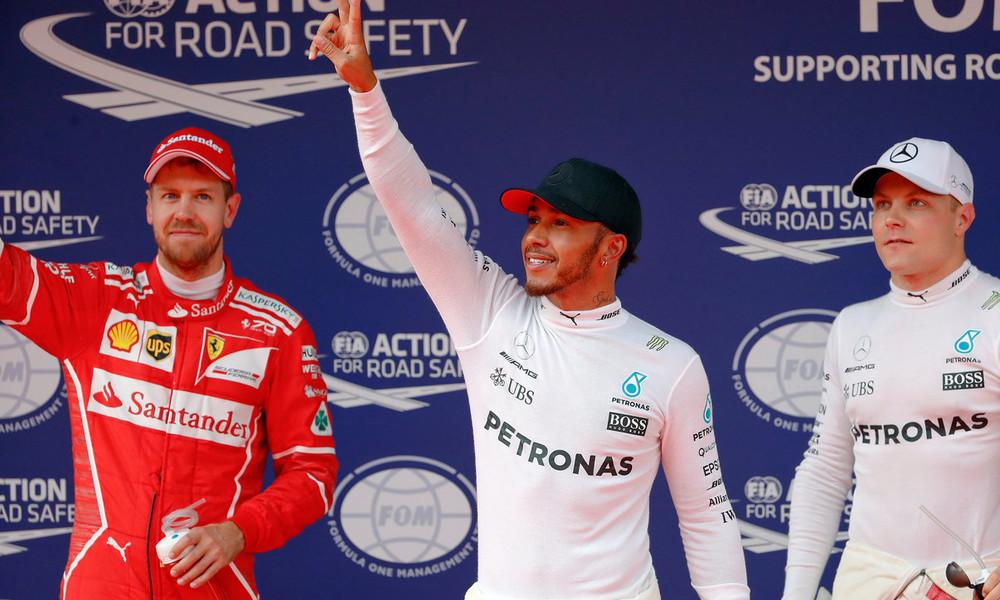 Ο Χάμιλτον την pole position και «έπιασε» Σένα και Σουμάχερ