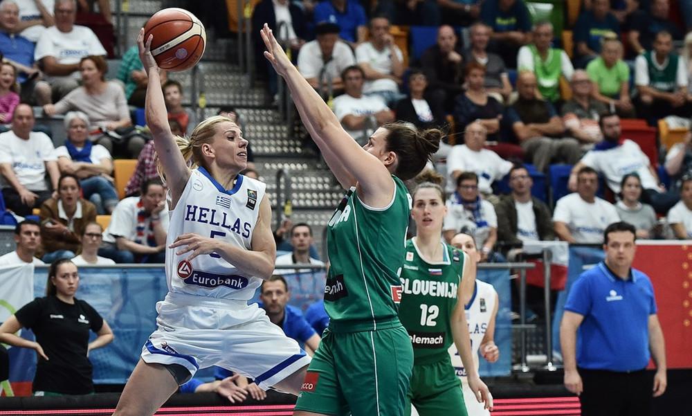 Eurobasket 2017 Γυναικών: Πρώτη ήττα για την Ελλάδα