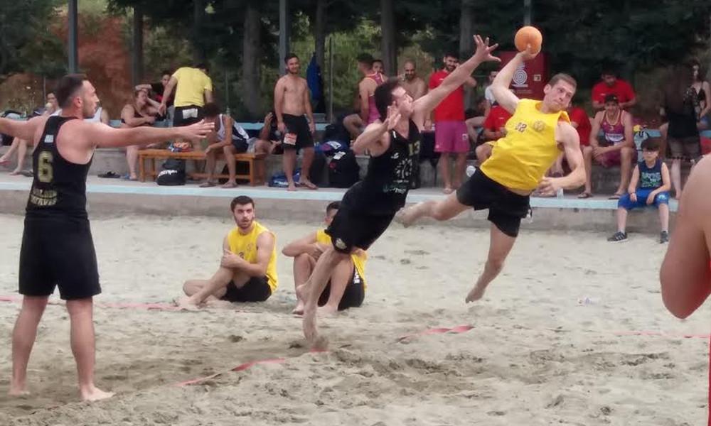 Στην Πάρο χτυπά η καρδιά του Beach Handball