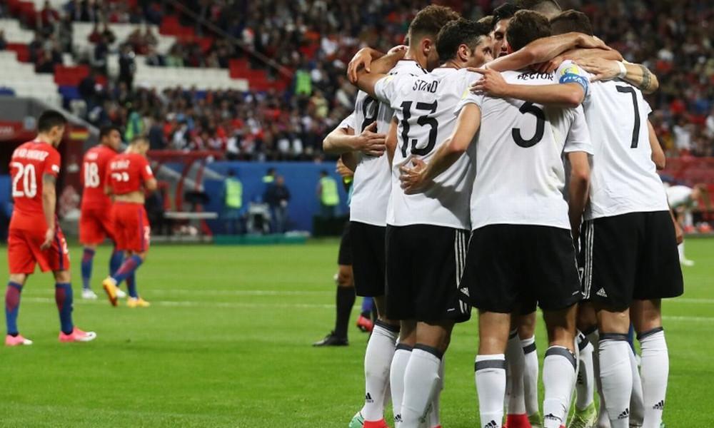 Γερμανία-Χιλή 1-1: Μαζί στην κορυφή, αλλά χωρίς πρόκριση ακόμα