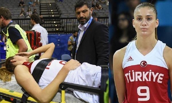 Σοβαρός τραυματισμός στο  Ευρωμπάσκετ Γυναικών
