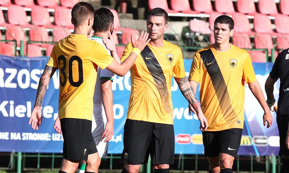 ΑΕΚ - Καρπάτι Λβιβ 1-1: Τα highlights του αγώνα
