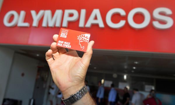Ολυμπιακός: Έσπασε… το φράγμα των 10 χιλιάδων διαρκείας