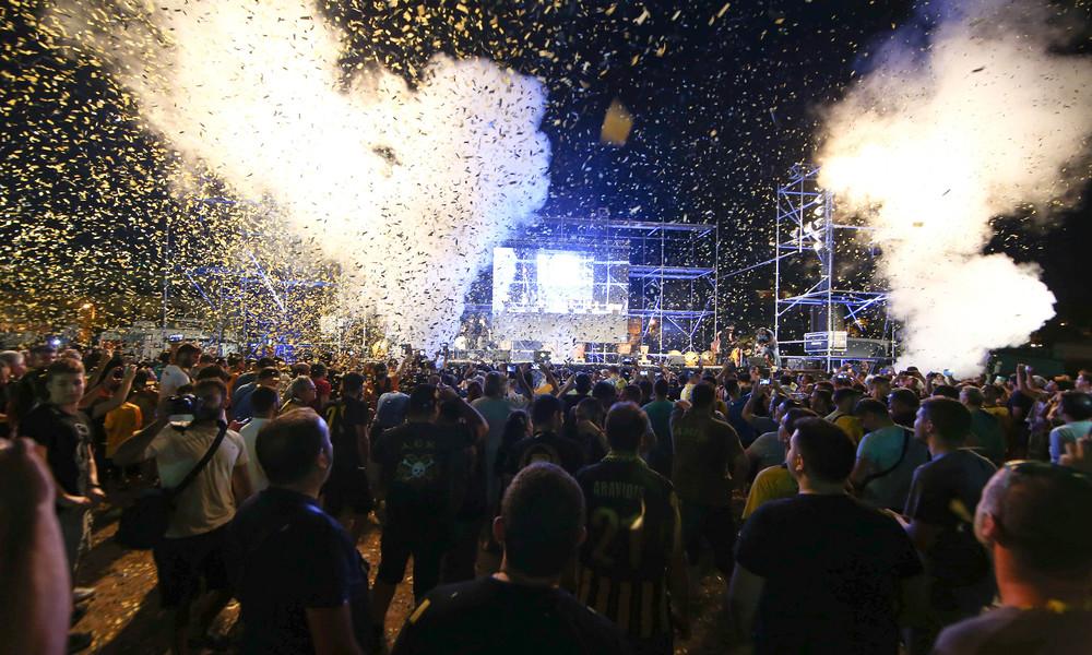 Η ΑΕΚ επέστρεψε σπίτι της και η Νέα Φιλαδέλφεια θύμισε κάτι από τα παλιά! (photos)
