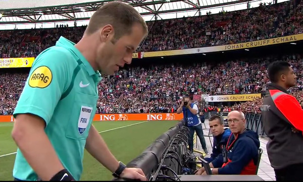 ΕΠΙΚΟ: Ο Μάκελιε ακύρωσε γκολ της Φέγενορντ για να δώσει πέναλτι στη Φίτεσε! (video)