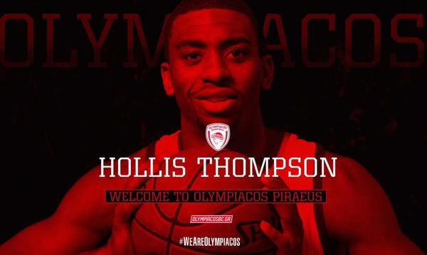Ολυμπιακός: Ανακοινώθηκε ο Τόμσον