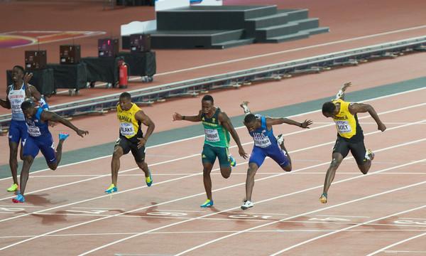 Μάχη ΗΠΑ - Τζαμάικας στον τελικό της σκυταλοδρομίας 4χ100