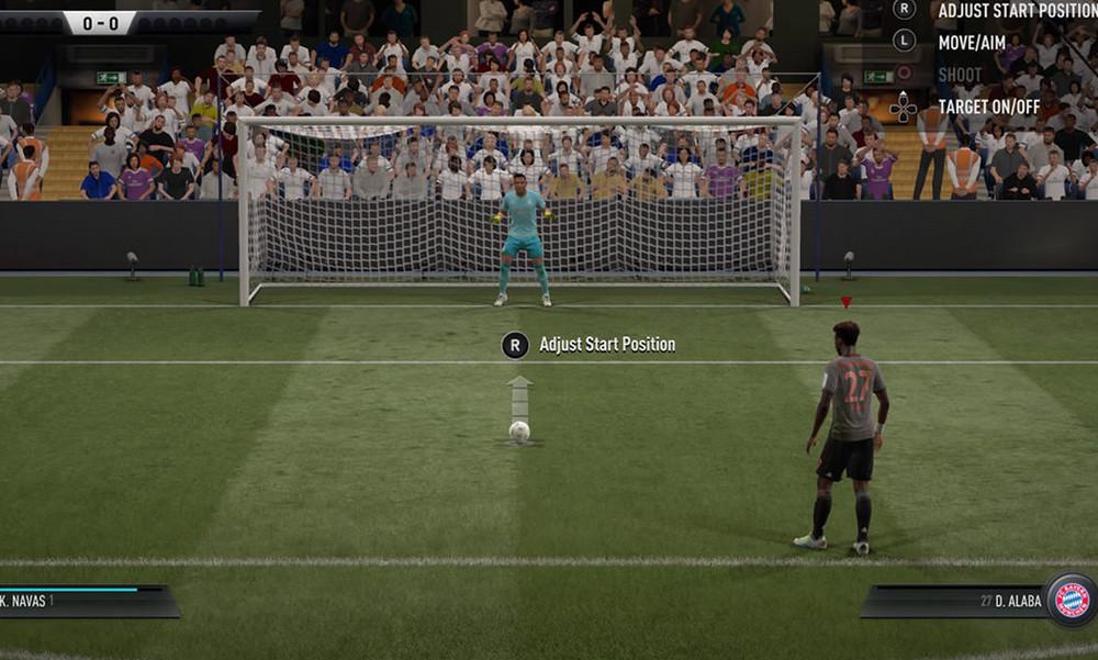 Πώς εξελίχθηκαν τα πέναλτι στο FIFA της EA Games