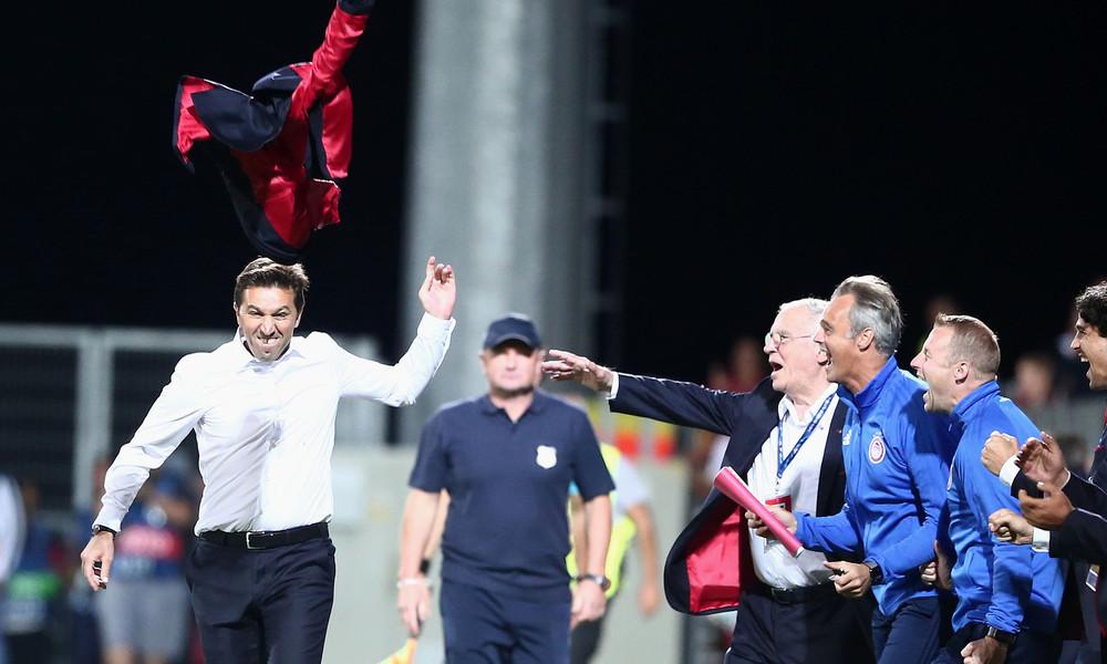 Χάσι: «Αυτή η πρόκριση σημαίνει πολλά για τον Ολυμπιακό»