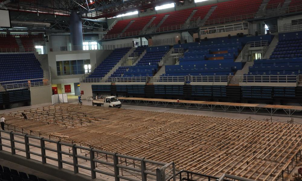 Ξεκίνησαν τα έργα για το Παγκόσμιο πρωτάθλημα Πάλης της Αθήνας