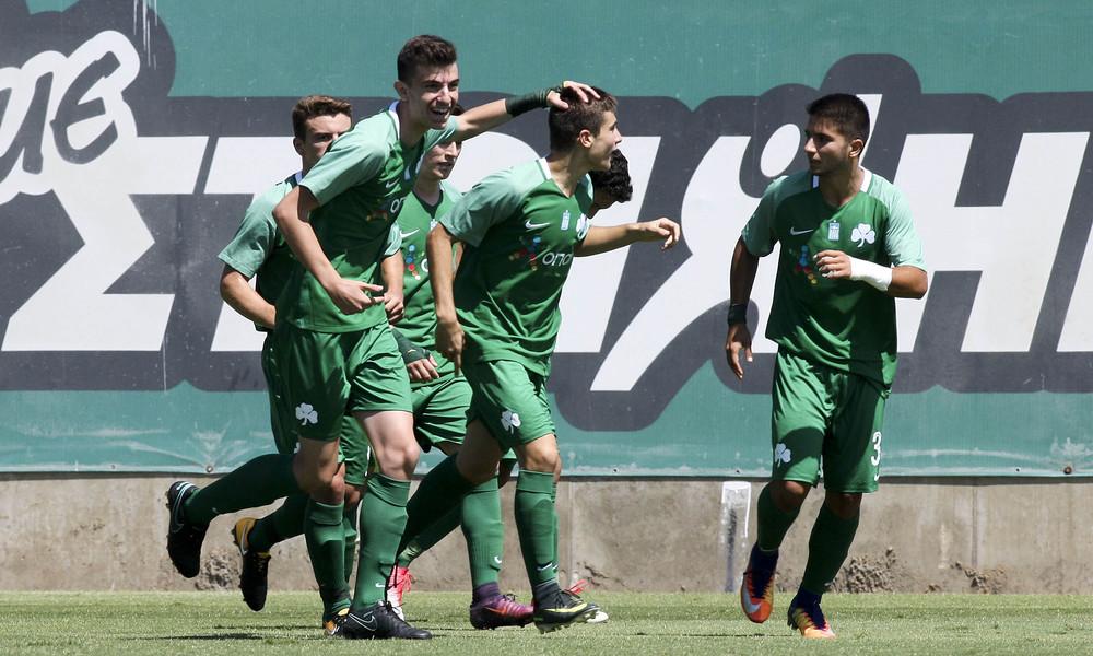 Παναθηναϊκός - Λεβαδειακός 2-0 (Κ20): Πρεμιέρα με το… δεξί