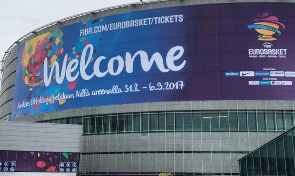 Ευρωμπάσκετ 2017: Ετοιμάζεται η Arena του Ελσίνκι