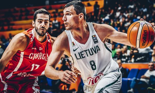 Ευρωμπάσκετ 2017: Η Γεωργία του Ζούρου «ξέρανε» τη Λιθουανία