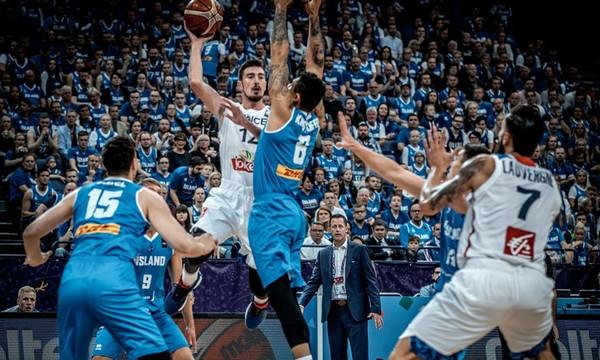 Eurobasket 2017: Ισοπεδωτική επικράτηση της Γαλλίας επί των Ισλανδών