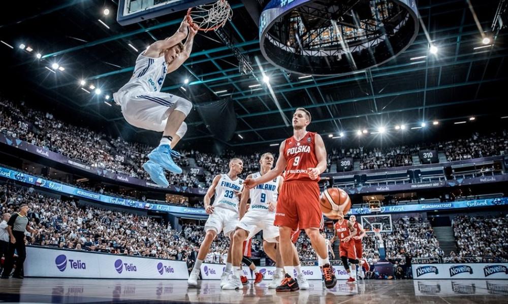 Ευρωμπάσκετ 2017: «Κλειδώνει» την πρόκριση η Φινλανδία