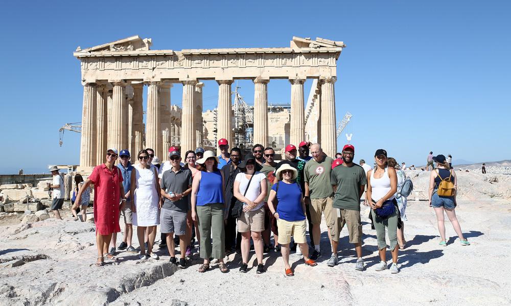 Ολυμπιακός: Οι σύνεδροι του Χάρβαρντ γνώρισαν τον ελληνικό πολιτισμό