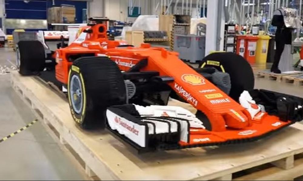 Πόσα κομμάτια LEGO χρειάζονται για μια Ferrari πραγματικού μεγέθους;