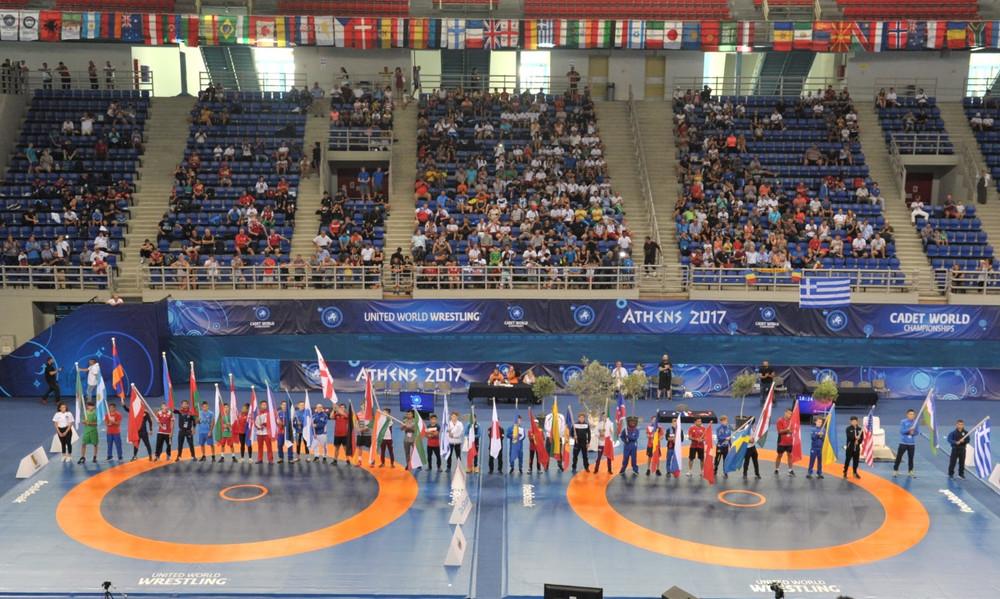 Με την τελετή έναρξης άνοιξε επίσημα η αυλαία του Παγκοσμίου Πρωταθλήματος Πάλης