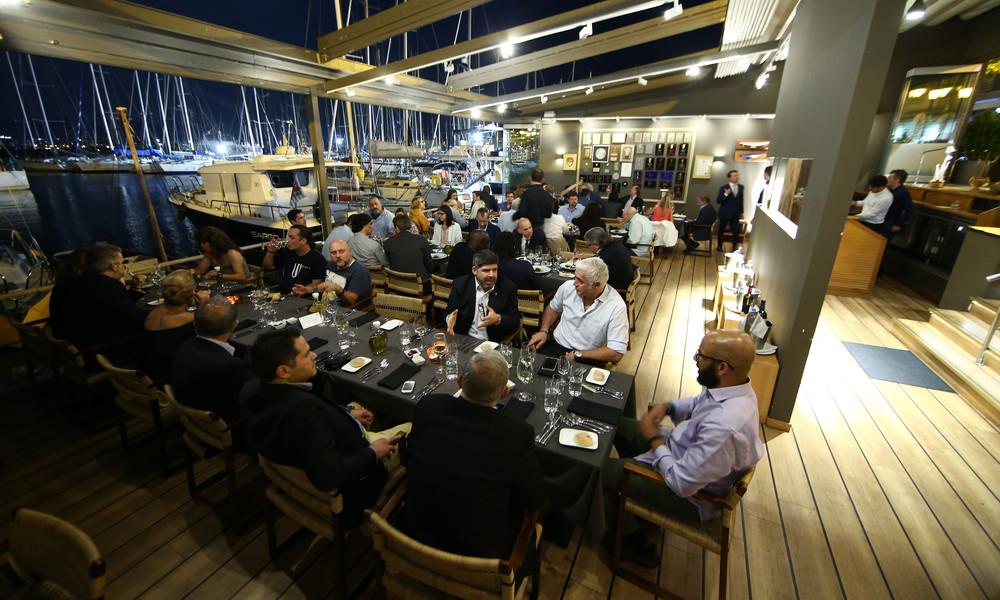 Ολυμπιακός: Φιλόξενο… δείπνο για τους σύνεδρους του Χάρβαρντ