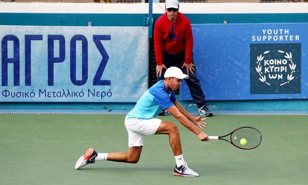 US Open: Ο 18χρονος Κύπριος Ευσταθίου στους «16» των τζούνιορς