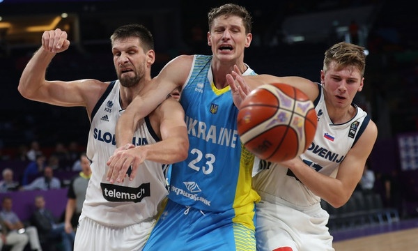 Ευρωμπάσκετ 2017: Ισοπέδωσε την Ουκρανία η Σλοβενία