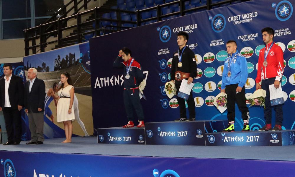 Έγραψε ιστορία ο Πιλίδης, χάλκινο μετάλλιο στο Παγκόσμιο Παίδων!