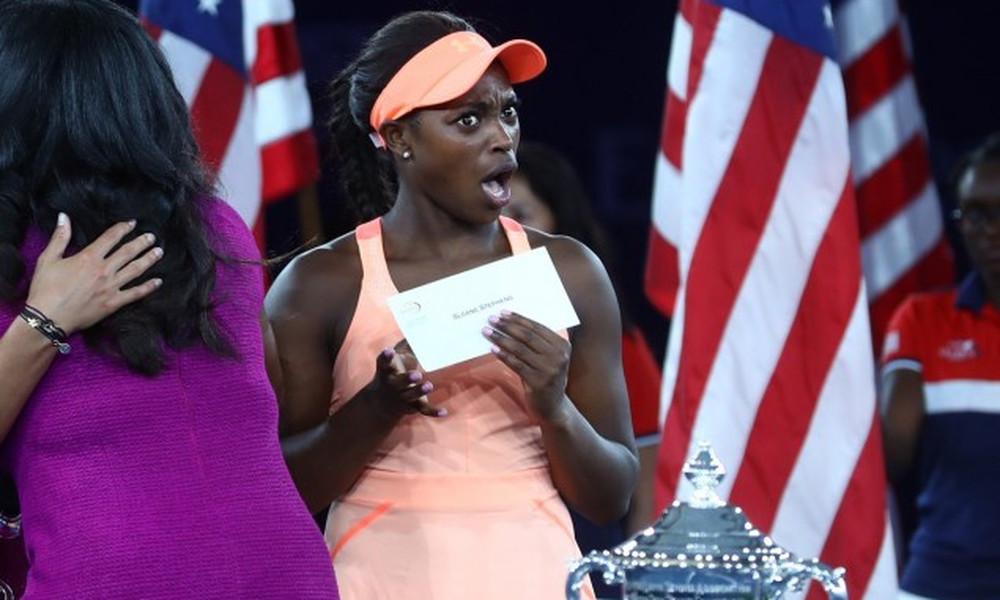 US Open: Τρελάθηκε με τα χρήματα η Στίβενς! (video)