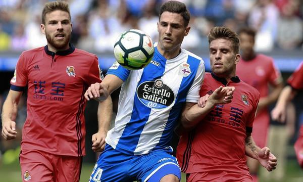 La Liga: Τρομερή η Σοσιεδάδ έριξε τεσσάρα στην Λα Κορούνια!
