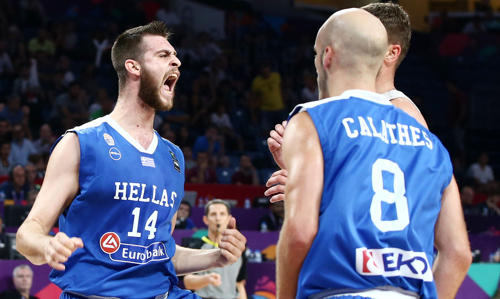 Ευρωμπάσκετ 2017: Η καρφωματάρα του Παπαγιάννη! (vid)
