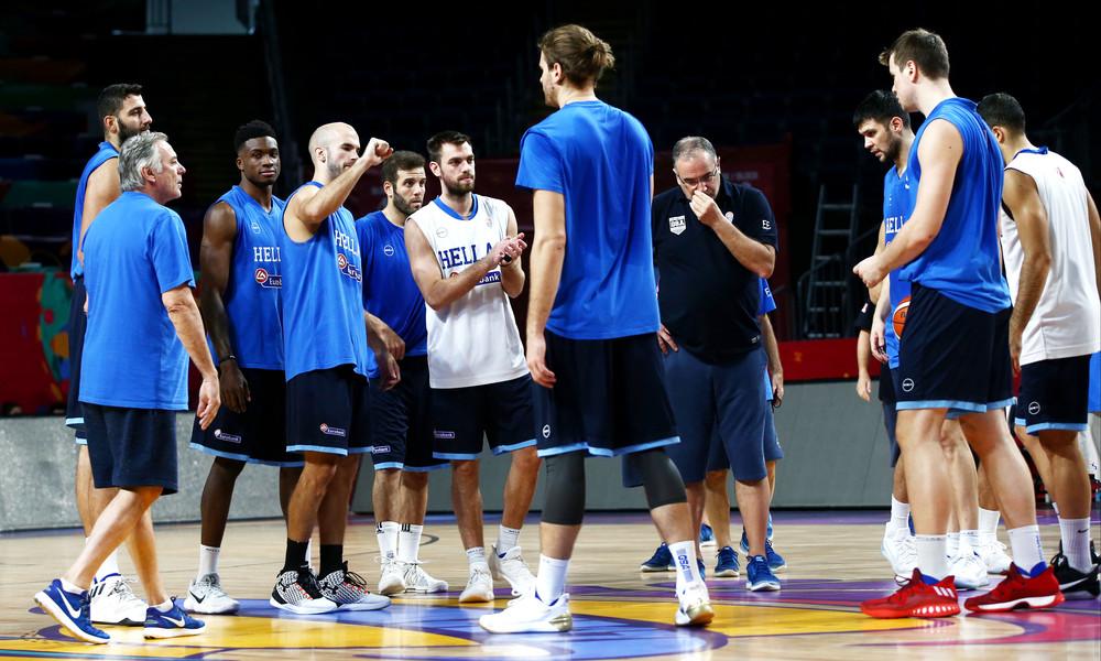 Ευρωμπάσκετ 2017: Μακρινά σουτ από τη σέντρα για χαλάρωμα η Εθνική
