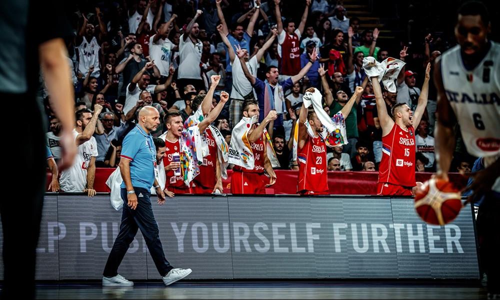 Ιταλία-Σερβία 67-83: Στους «4» με… περίπατο!