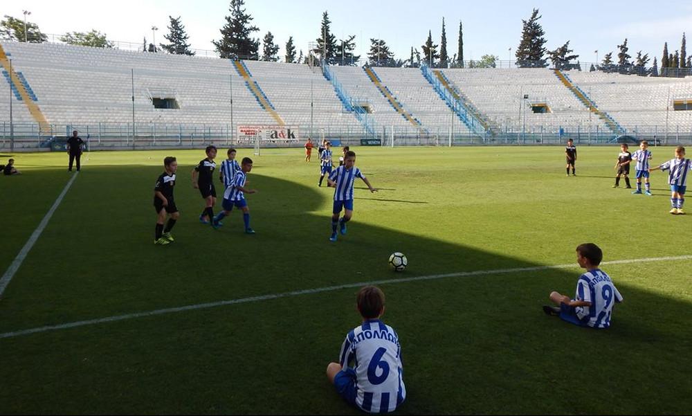 Το ποδοσφαιρικό σχολείο του ΓΣ «Απόλλων Σμύρνης» επεκτείνεται στη Φιλαδέλφεια (pics)
