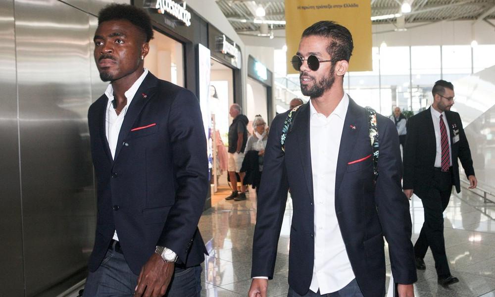 Ολυμπιακός: Έφτασε Τορίνο (photo)