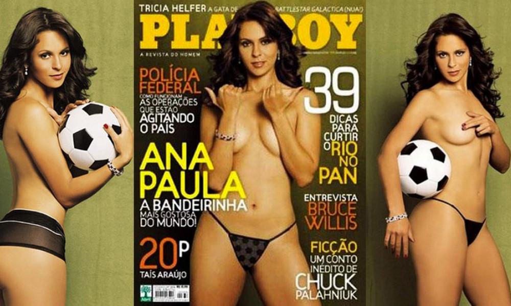 Όταν η διαιτησία έγινε εξώφυλλο στο Playboy! (pics)