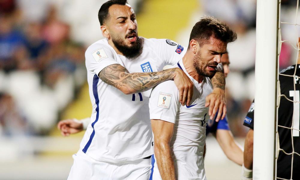Πρόκριση με πολλά γκολ για Ελλάδα