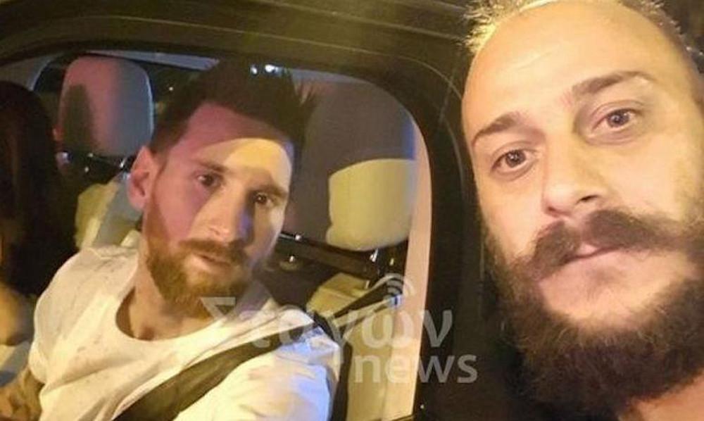 Επικό! Έλληνες σταμάτησαν σε φανάρι τον Μέσι και έβγαλαν selfie! (photos)