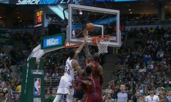 NBA: Τρομερή ταπάρα ΛεΜπρόν στον Αντετοκούνμπο (video)