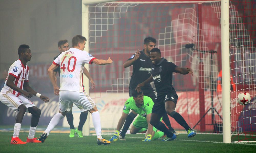 Ολυμπιακός - ΠΑΟΚ 0-1 (49')