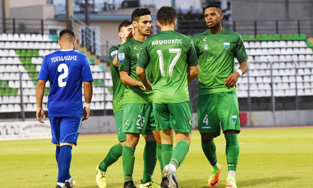 Λεβαδειακός-Αιγινιακός 5-0: Χορεύοντας στη βροχή!