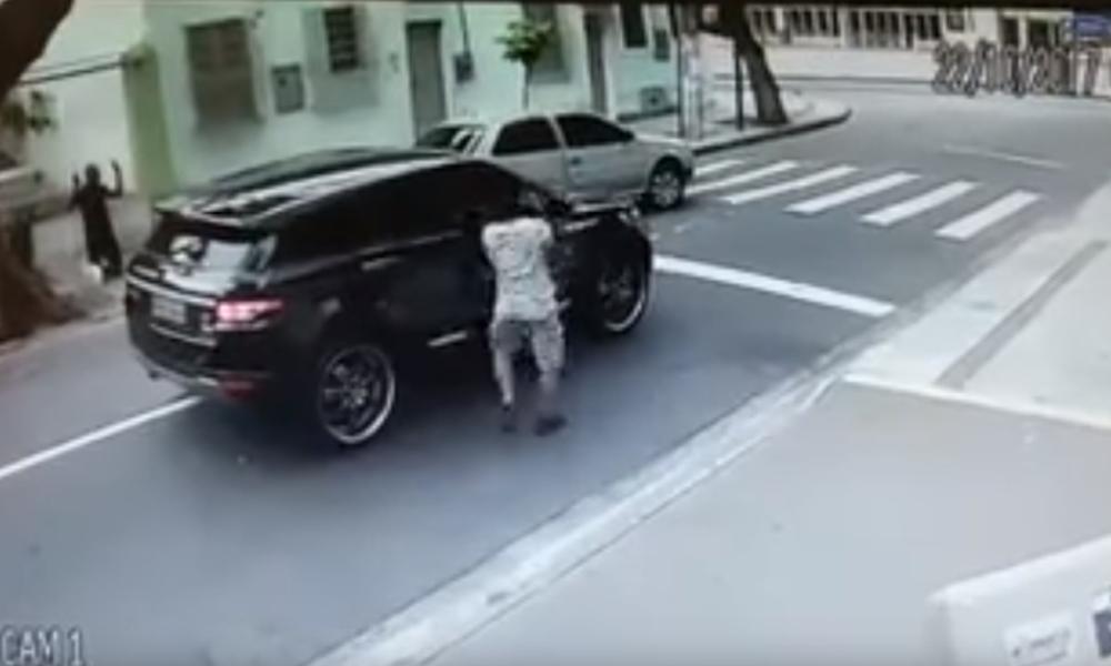 ΣΟΚ! Ληστεία σε πρώην διεθνή με όπλο στο κεφάλι! (photos+video)