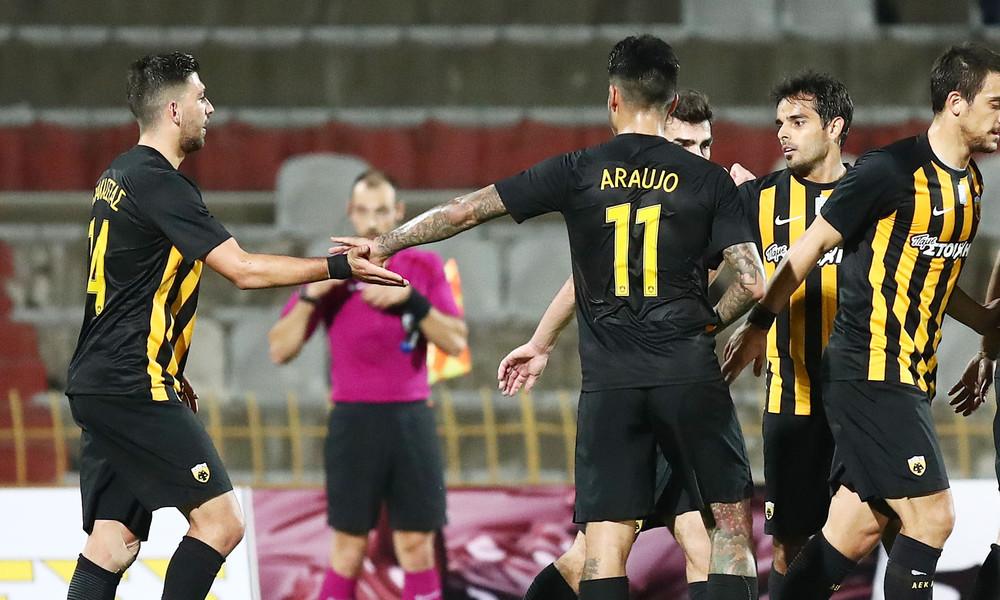 Απόλλων Λάρισας-ΑΕΚ 0-7: Άστραψε και βρόντηξε!
