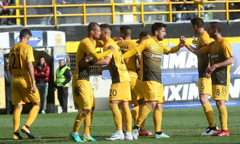 Άρης-Αιγινιακός 5-0: Τρελά γκάζια για… Super League!
