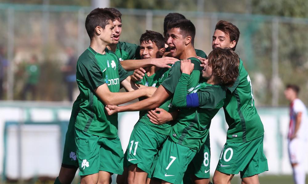 Παναθηναϊκός - Ολυμπιακός 5-4 (Κ15): Γκολ και θέαμα με «πράσινο» θριαμβευτή (pics)